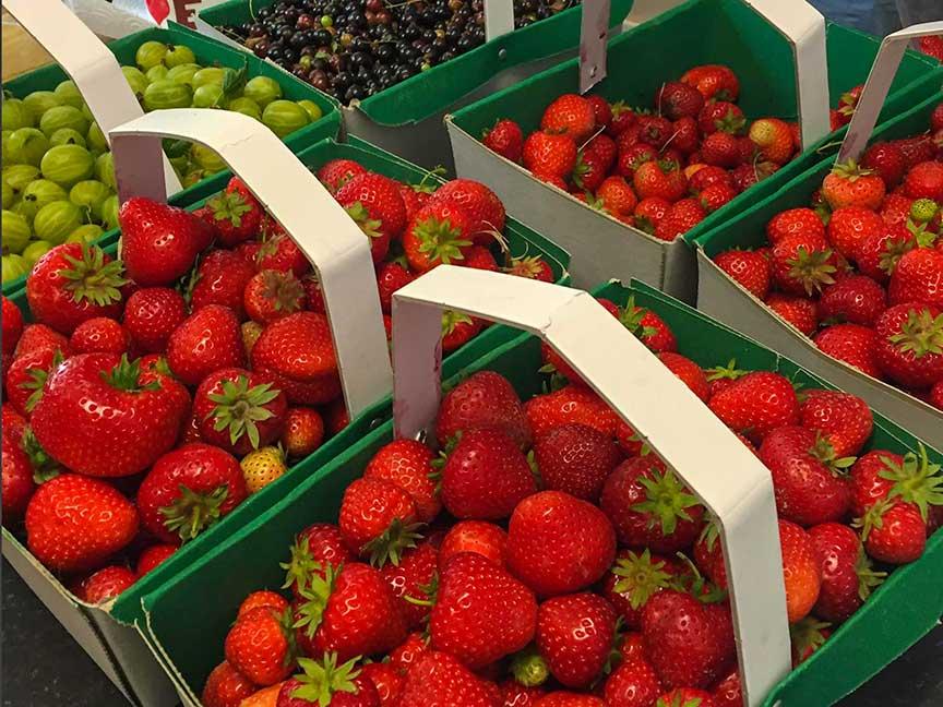 Fresh Fruit at The Bubble Inn Farm Shop