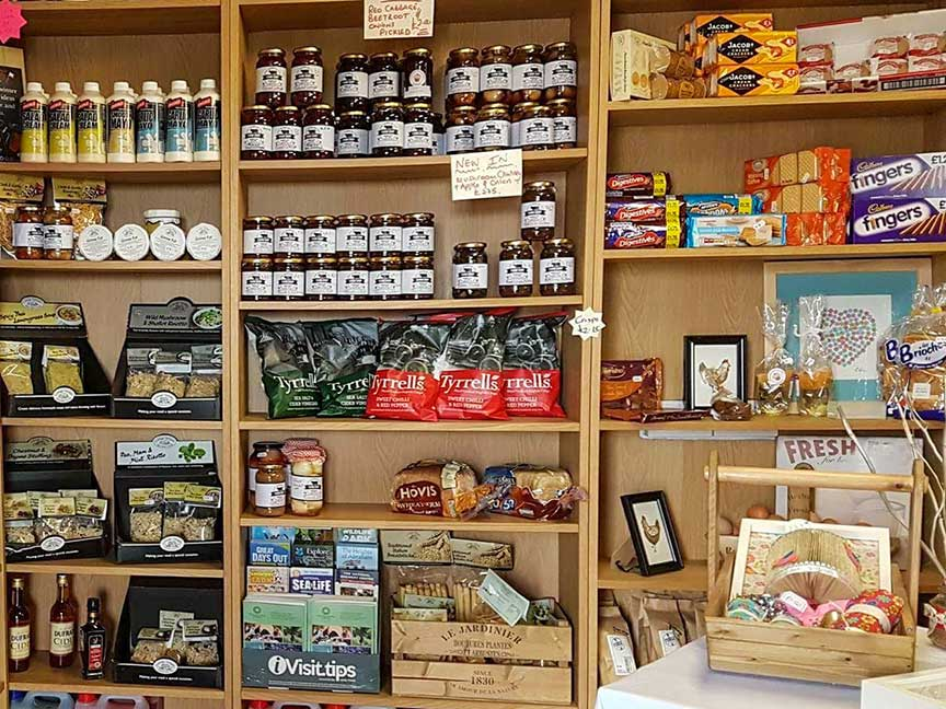 Groceries at The Bubble Inn Farm Shop