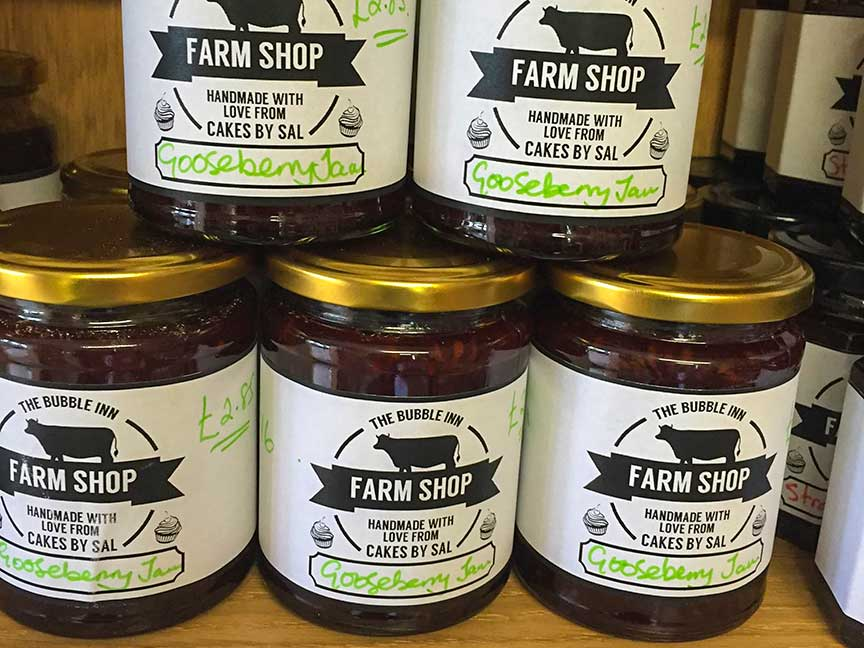 Jams at The Bubble Inn Farm Shop