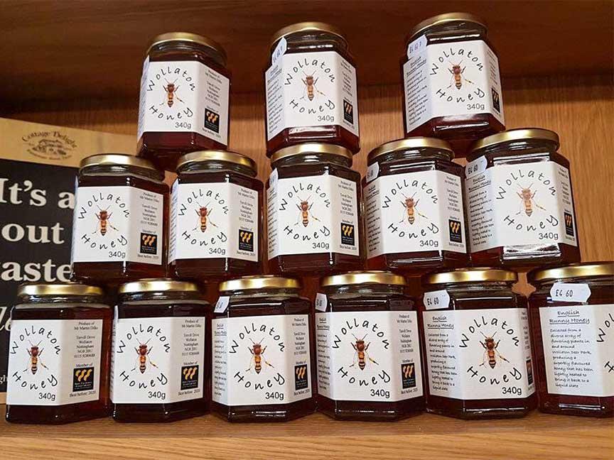 Honey at The Bubble Inn Farm Shop