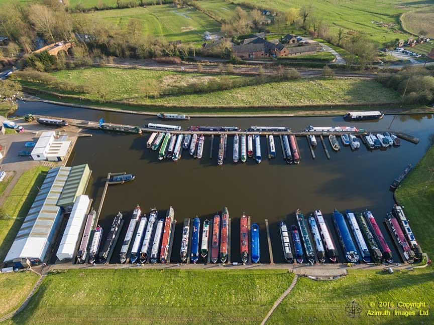 Aerial Photo of Stenson Marina