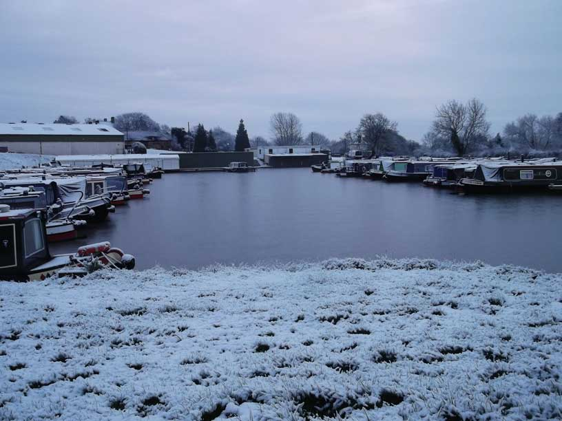 Winter at Stenson Marina