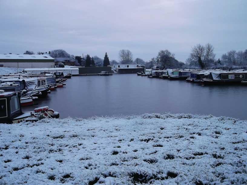 Winter at Stenson Marina